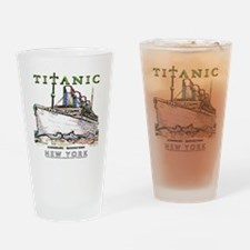 TG8 Neon  White 14x14-4 Drinking Glass
