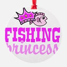 fishing princess Ornament
