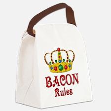 BACONRULES Canvas Lunch Bag