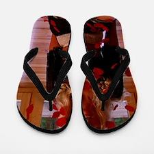 Candacefloatingpetals2 Flip Flops