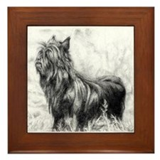 Affenpinscher Framed Tile