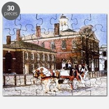 independence hall carriage copy Puzzle