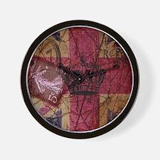 vintage jubilee  British Flag London UK Wall Clock
