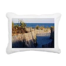 dune path Rectangular Canvas Pillow