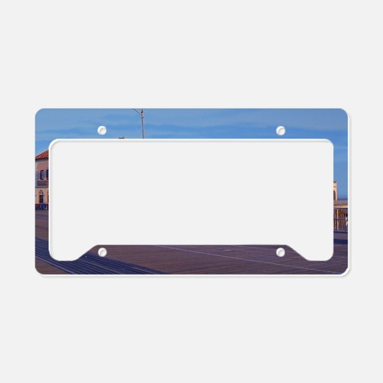 OC music pier for store License Plate Holder