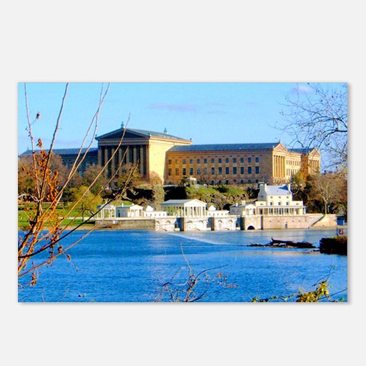 Philadelphia Museum of Ar Postcards (Package of 8)