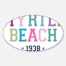 Myrtle Beach 1938 B Decal