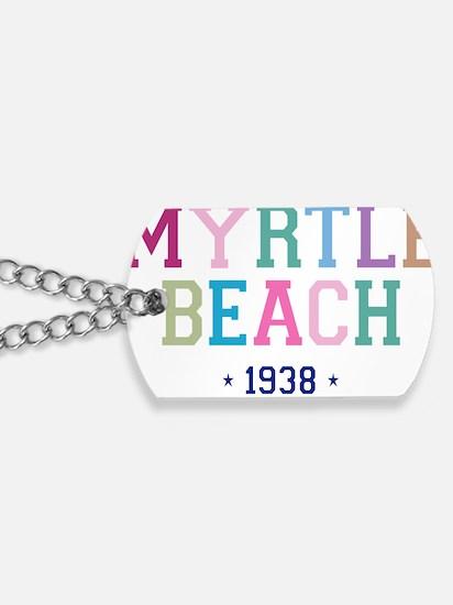 Myrtle Beach 1938 B Dog Tags