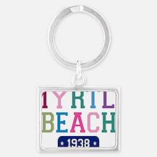 Myrtle Beach 1938 W Landscape Keychain