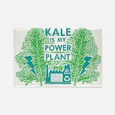 Kale Power Plant 4 Rectangle Magnet