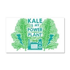 Kale Power Plant 4 Car Magnet 20 x 12