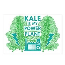 Kale Power Plant 4 Postcards (Package of 8)