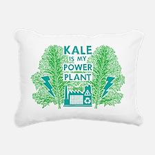 Kale Power Plant 4 Rectangular Canvas Pillow