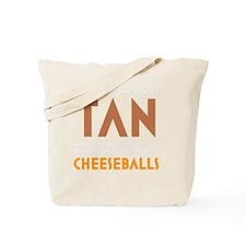 Tan-Orange-Black Tote Bag