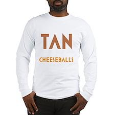 Tan-Orange-Black Long Sleeve T-Shirt