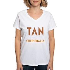Tan-Orange-Black Shirt