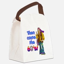 THEN-CAME-THE-60S Canvas Lunch Bag