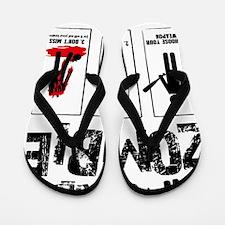 kill zombie Flip Flops