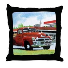 truckframe Throw Pillow