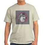 Gray Alaskan Malamute Light T-Shirt