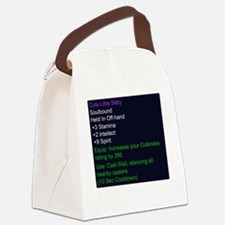 Cute Little Baby Epic Item Canvas Lunch Bag