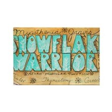 SnowflakeWarrior Rectangle Magnet