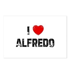 I * Alfredo Postcards (Package of 8)