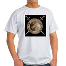 CP Mousepad Sheild and swords T-Shirt