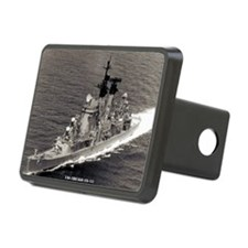 chicago framed panel print Hitch Cover