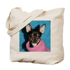 ChihuahuaShower1 Tote Bag