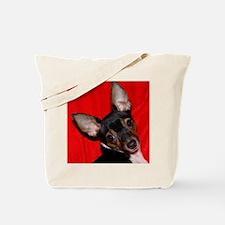 ToyFoxTerrierShower1 Tote Bag