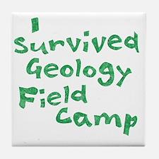 geologyFieldCampGn Tile Coaster