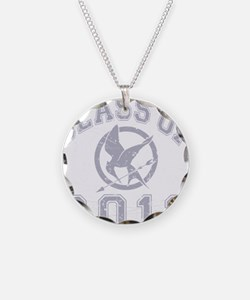 Class Of 2012 Hunger Game -  Necklace Circle Charm