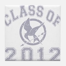 Class Of 2012 Hunger Game - Grey 2 Tile Coaster