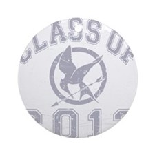 Class Of 2012 Hunger Game - Grey 2 Round Ornament