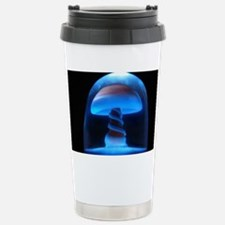 Blue Glass Shroom Travel Mug