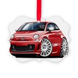 Abarth Picture Frame Ornaments
