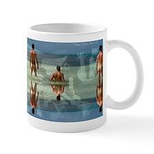 Picasso Guernica Over Male Bathers Mug