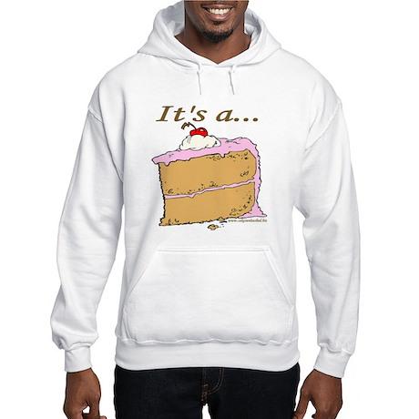 It's A Piece Of Cake Hooded Sweatshirt