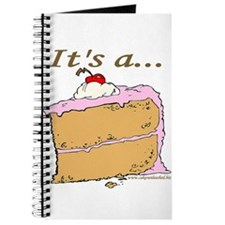It's A Piece Of Cake Journal