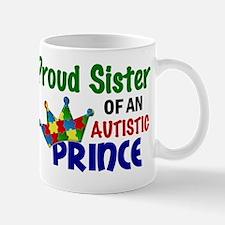 D Proud Sister Autistic Prince Mug
