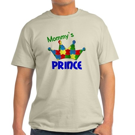 D Mommys Autistic Prince Light T-Shirt