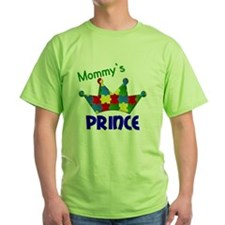 D Mommys Autistic Prince T-Shirt