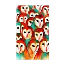 Crowded Owls Decal