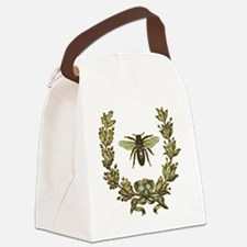 vint-bee Canvas Lunch Bag