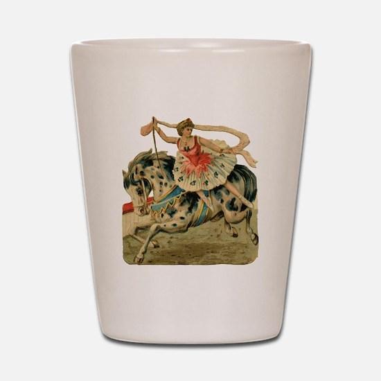 vint-horsegirl Shot Glass