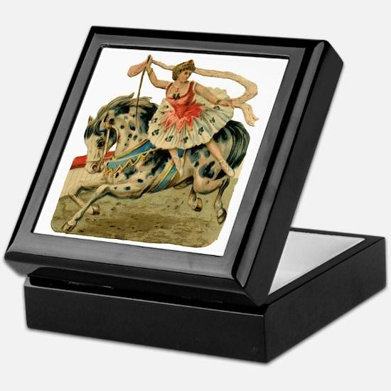 vint-horsegirl Keepsake Box