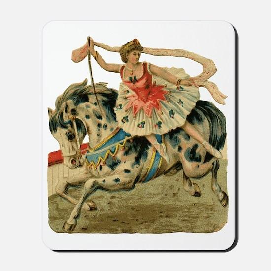 vint-horsegirl Mousepad