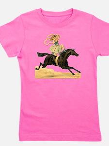 vint-horsegirl2 Girl's Tee