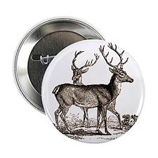 """vint-deer 2.25"""" Button"""